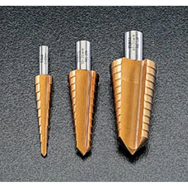 ESCO エスコ 工具 4-12mmステップドリル(チタンコーティング)