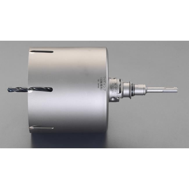 ESCO エスコ 110・160mm2本組木工用コアドリルセット[SDS]