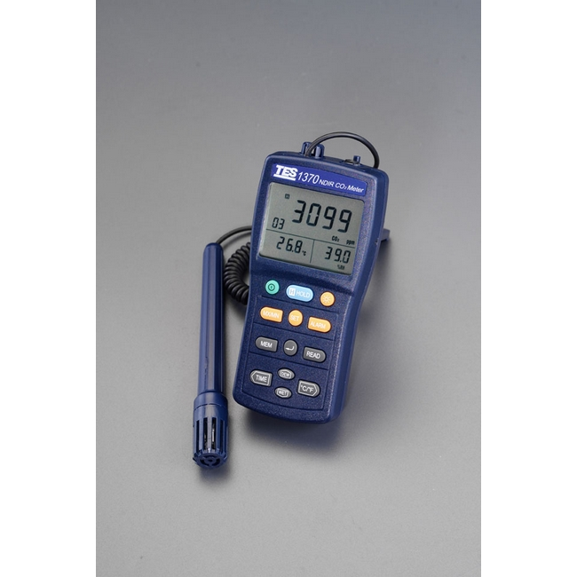 ESCO エスコ デジタルCO2濃度計