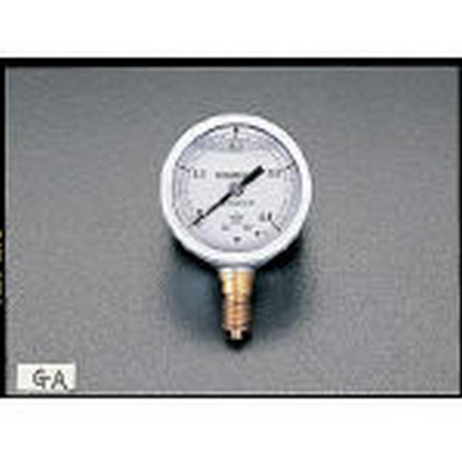 ESCO エスコ その他の工具 60mm/0-0.2MPa圧力計(耐震型)