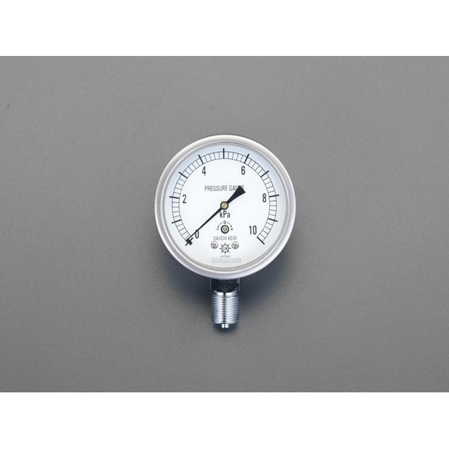 ESCO エスコ 75mm/0/1.0KPa微圧計