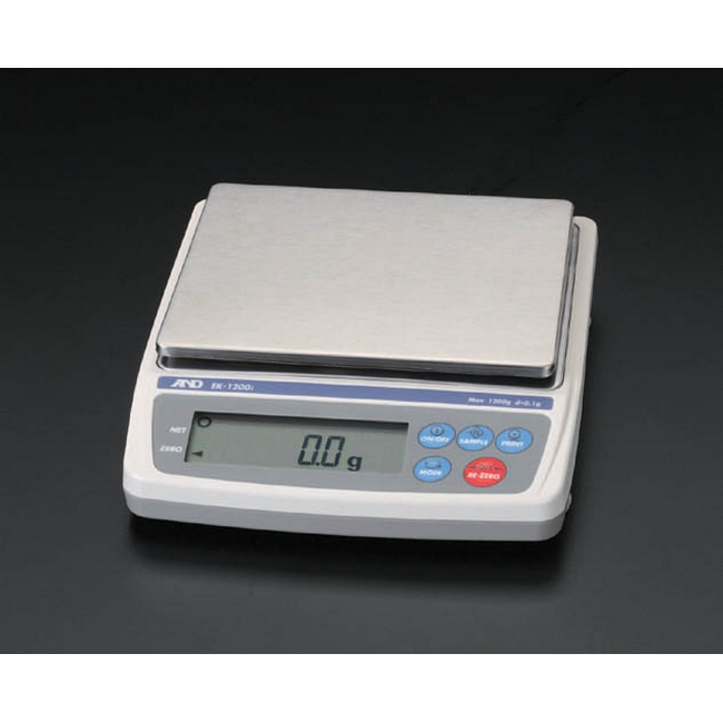 ESCO エスコ 12kg[1.0g]電子天秤