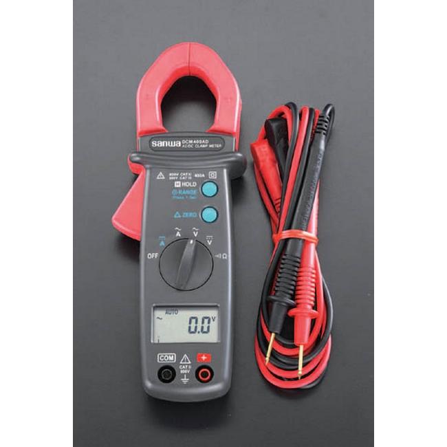 ESCO エスコ デジタルクランプメーター(自動車用)