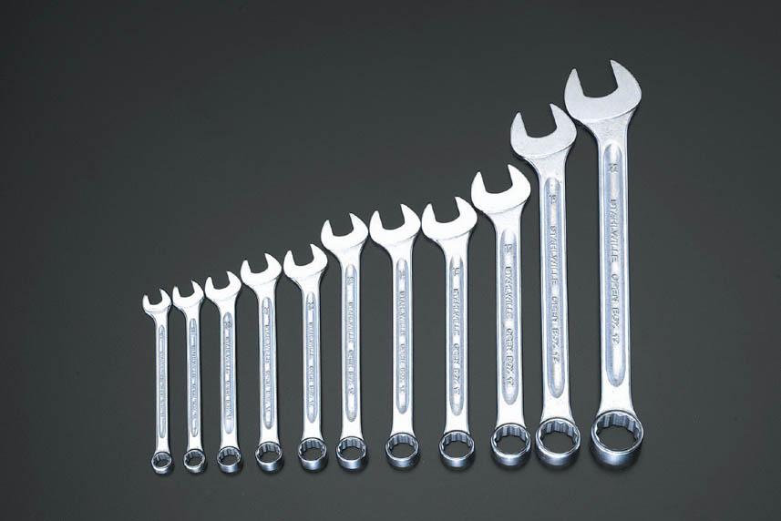 ESCO エスコ その他の工具 9本組片目片口スパナ