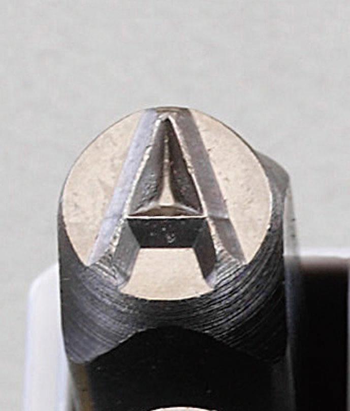 ESCO エスコ 工具 9.5mm英字刻印セット