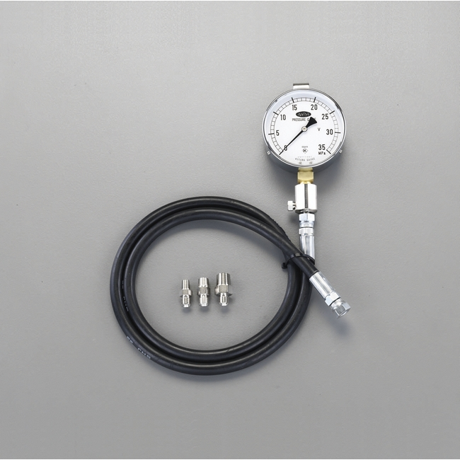 ESCO エスコ その他の工具 25MPa/75mm高圧用油圧計