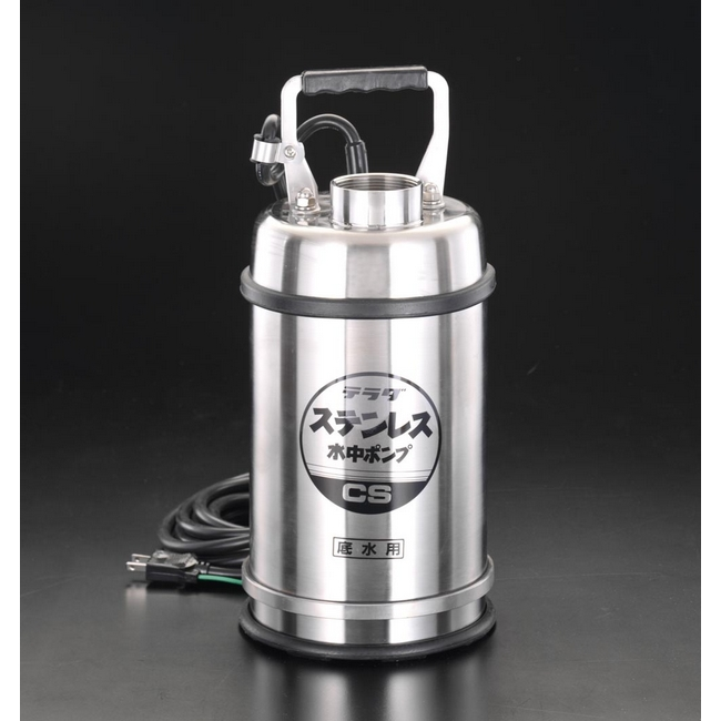 ESCO エスコ その他の工具 AC100V/400W/60Hz/50mm低水位水中ポンプ