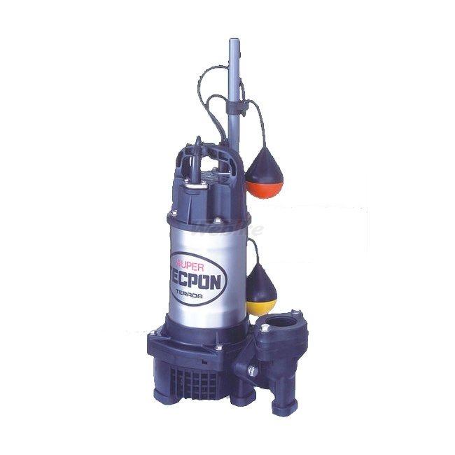 【ポイント5倍開催中!!】【クーポンが使える!】 ESCO エスコ その他の工具 AC200V/750W/50Hz/50mm汚水用水中ポンプ