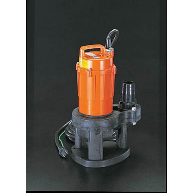 ESCO エスコ AC100V/150W/60Hz/40mm汚水用水中ポンプ