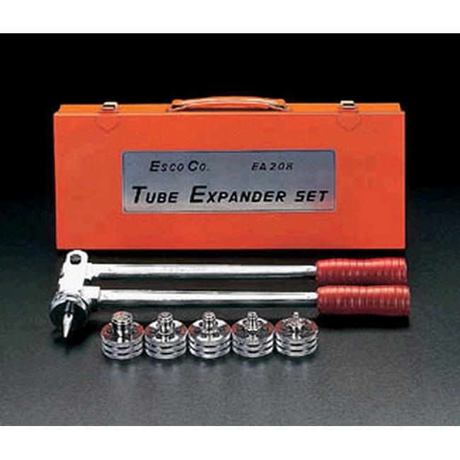 【ポイント5倍開催中!!】【クーポンが使える!】 ESCO エスコ その他の工具 3/8 -1 エキスパンダーセット