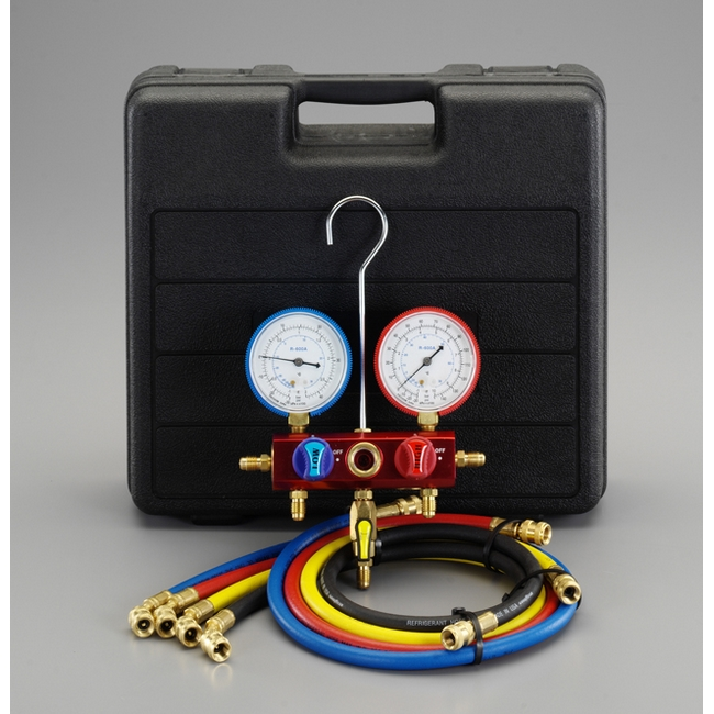 ESCO エスコ その他の工具 [R600A]ボールバルブ式マニホールドキット