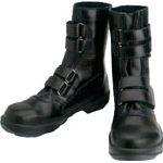 TRUSCO トラスコ中山 工業用品 シモン 安全靴 マジック式 8538黒 23.5cm