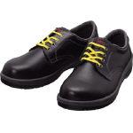 TRUSCO トラスコ中山 工業用品 シモン 静電安全靴 短靴 7511黒静電靴 23.5cm