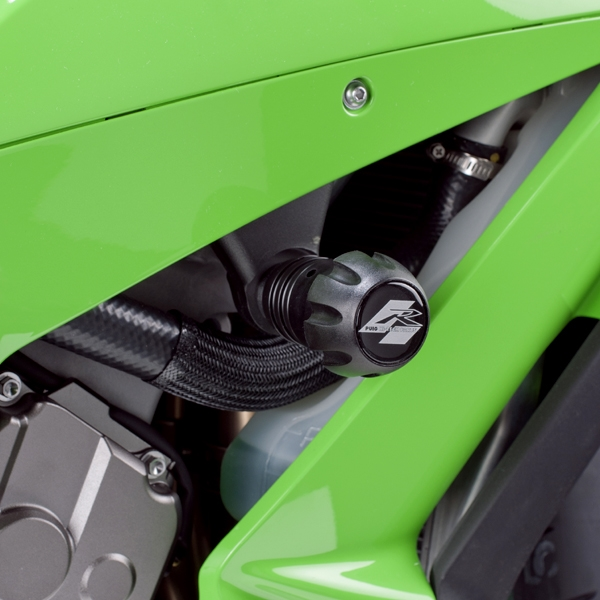 Puig プーチ ガード・スライダー クラッシュパッド R12タイプ カラー:グリーン ZX-10R