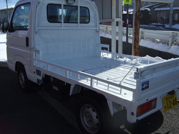 J-TRIP Jトリップ ジェイトリップ トランポ用品 バイク搬送バー (HONDAアクティ用)
