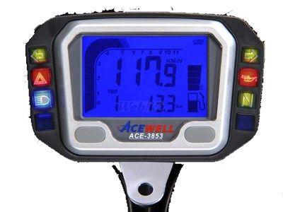 ACEWELL エースウェル スピードメーター 多機能デジタルメーター 仕様:100Ω