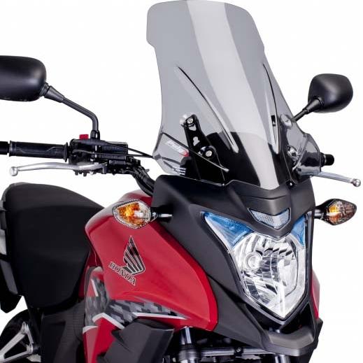 Puig プーチ ツーリングスクリーン カラー:スモーク 400X CB500X