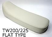 HEAVENS ヘブンズ シート本体 フラットタイプシート スムース シートカラー:アイボリー スタンダード 低反発シート無 TW200 TW225