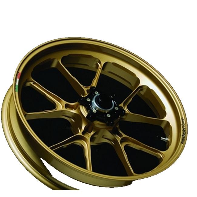 MARCHESINI マルケジーニ ホイール本体 アルミニウム鍛造ホイール M10S Kompe Evo [コンペエボ] カラー:ANODIZING GOLD(アルマイトゴールド) ゼファー750