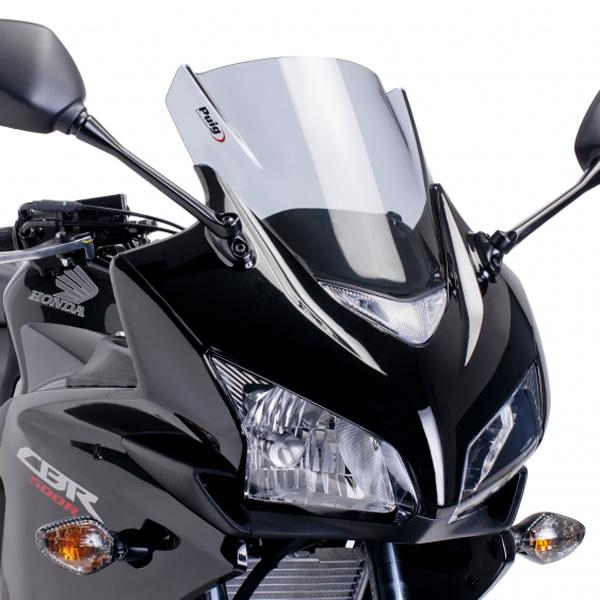 Puig プーチ レーシングスクリーン カラー:イエロー CBR400R (2013-) CBR500R