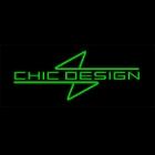 CHIC DESIGN シックデザイン ビキニカウル・バイザー ロードコメット カラー:スモーク カラー:ブラックメタリック2(カラーコード:0156) (単色塗装済み) SRX400 SRX600