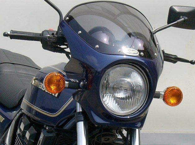 CHIC DESIGN シックデザイン ビキニカウル・バイザー ロードコメット カラー:エボニー(カラーコード:H8) (単色塗装済み) カラー:スモーク ZRX400 II 95-08