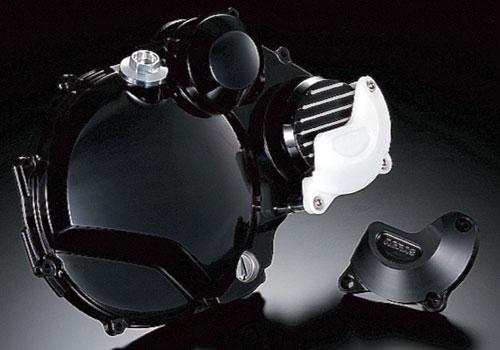 AGRAS アグラス ガード・スライダー レーシングスライダー カラー:ジュラコン/ホワイト ZRX1100 ZRX1200