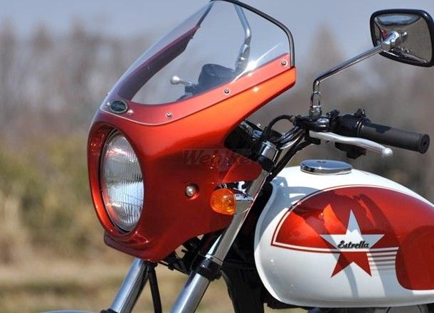 CHIC DESIGN シックデザイン ビキニカウル・バイザー ロードコメット カラー:クリア カラー:パールクリスタルホワイト/メタリックファントムシルバー (カラーコード:18Q 年式:7) (ツートンカラー塗装済み)