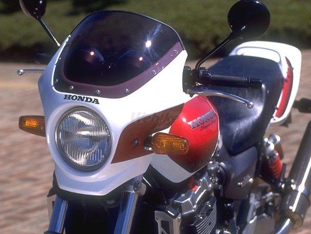 CHIC DESIGN シックデザイン ビキニカウル・バイザー マスカロード カラー:イタリアンレッド スクリーンカラー:スモーク CB1300スーパーフォア
