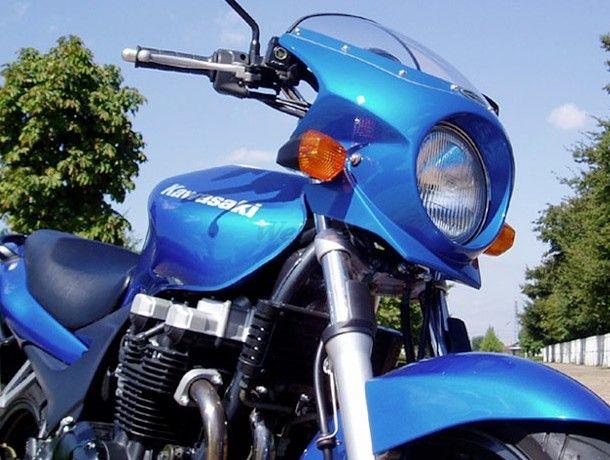 CHIC DESIGN シックデザイン ビキニカウル・バイザー ロードコメット2 カラー:キャンディライトニングブルー カラー:クリア ZR-7