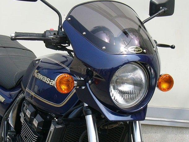 CHIC DESIGN シックデザイン ビキニカウル・バイザー ロードコメット2 カラー:クリア カラー:パールミスティックブラック ZRX400 II 95-08