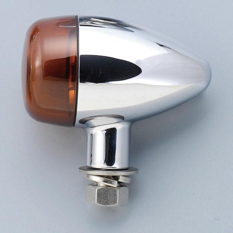 POSH Faith ポッシュ フェイス 車種専用ウインカーセット ベーシックシリーズ 砲弾タイプ レンズカラー:オレンジレンズ W800