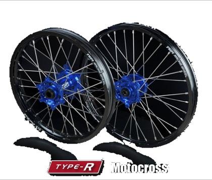 TGR TECHNIX GEAR TGRテクニクスギア ホイール本体 TYPE-R Motocross(モトクロス)用ホイール ニップルカラー:オレンジ ハブカラー:グリーン(KAWASAKI COLOR) WR450F YZ250 YZ450F