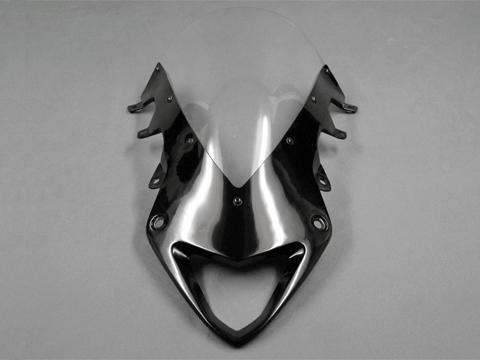 A-TECH エーテック Aテック エアロスクリーン スクリーンカラー:スモーク ベース素材:綾織カーボン S1000RR