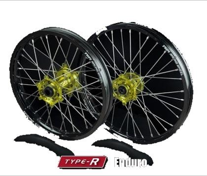 お得セット TGR TYPE-R TECHNIX GEAR ティージーアールテクニクスギア TYPE-R ティージーアールテクニクスギア Enduro(エンデューロ)用ホイール(前後セット) RM-Z250 TGR RM-Z450 RMX450Z 10-17, The Black Market:cbb971e1 --- mediplusmedikal.com