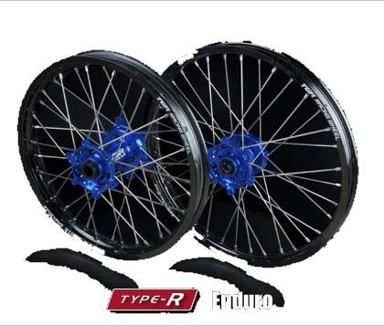 TGR TECHNIX GEAR TGRテクニクスギア ホイール本体 TYPE-R Enduro(エンデューロ)用ホイール ニップルカラー:レッド ハブカラー:ブルー(YAMAHA COLOR) YZ250F YZ450F