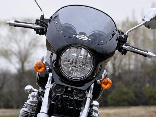 CHIC DESIGN シックデザイン ビキニカウル・バイザー ロードコメット2 カラー:スモーク カラー:パールスペンサーブルー(ストライプ) CB1100 CB1100 EX