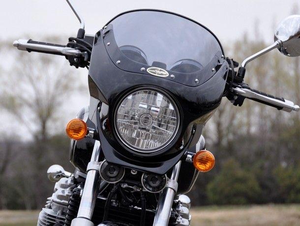 CHIC DESIGN シックデザイン ビキニカウル・バイザー ロードコメット2 カラー:インディグレーメタリック(ストライプ) カラー:クリア CB1100 CB1100 EX