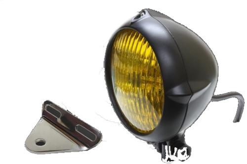 ガレージT&F 4.5インチビンテージライト&ライトステーキット タイプB スティード400