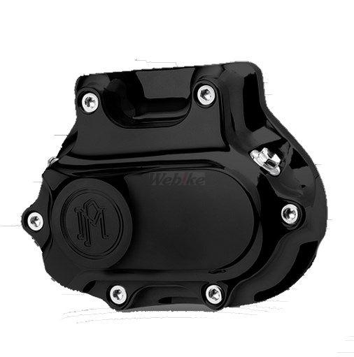 PerformanceMachine パフォーマンスマシン エンジンカバー CONTOUR SMOOTH HOUSING クラッチカバー 仕上げ:ブラック 汎用