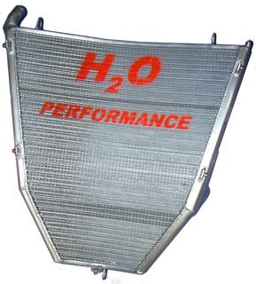 超人気新品 H2O Performance H2Oパフォーマンス レーシングラジエターキット CBR1000RR FIRE BLADE [ファイアブレード], 金色で金運アップ しあわせ七福神 c09f7e80