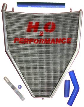 感謝の声続々! H2O Performance H2Oパフォーマンス レーシングラジエターキット CBR1000RR FIRE BLADE [ファイアブレード], 近江牛さかえや 8ede9de6