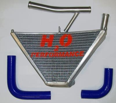 高速配送 H2O Performance H2Oパフォーマンス ラジエーター本体 CBR600RR サブラジエター H2O CBR600RR, ポポラマーマ:ba27500d --- portalitab2.dominiotemporario.com