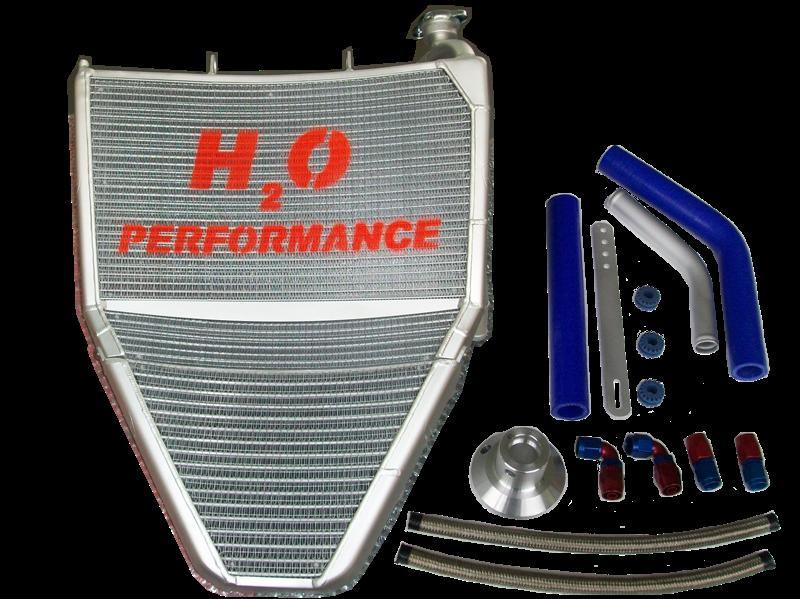 品質が H2O Performance H2Oパフォーマンス レーシングラジエター/オイルクーラーキット DAYTONA675 [デイトナ], 所沢植木鉢センター 981b1b55