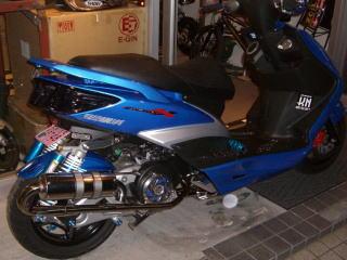 【イベント開催中!】 KN企画 ケイエヌキカク フルエキゾーストマフラー えびちゃん マフラー 160cc
