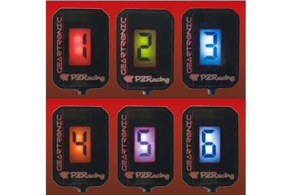 PZRacing ピーゼットレーシング GEARTRONICゼロギアインジゲーター ROCKET3 [ロケット] SPEED TRIPLE T1050[スピードトリプルT1050] TIGER1050 [タイガー1050]