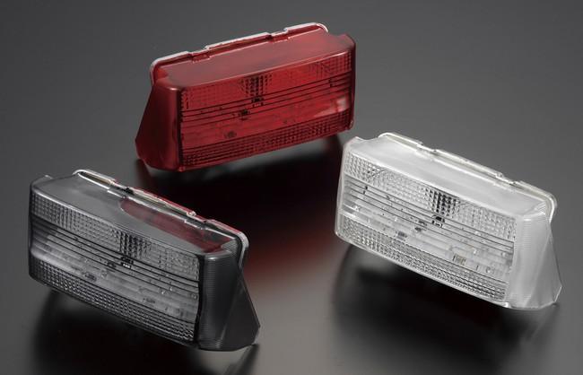 POSH Faith ポッシュ フェイス LEDテールランプユニット カラー:レッド CB1300スーパーフォア