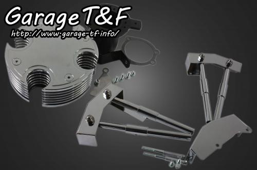 ガレージT&F エンジンカバー ビレットI&プッシュロッドカバーセット バルカン400 バルカン400II バルカンクラシック400 バルカンドリフター400