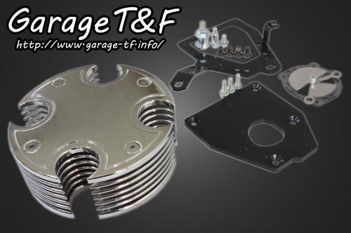 ガレージT&F エアクリーナー・エアエレメント ビレットエアクリーナーキット シャドウ400