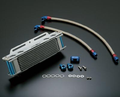 【イベント開催中!】 ACTIVE アクティブ オイルクーラー本体 ストレートオイルクーラーキット コアカラー:シルバー GPZ750R GPZ900R